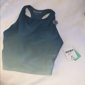 Forever 21 workout crop top